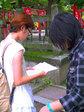 7日のFW:豊国神社にて