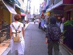 7日のFW:宮川町通を歩く